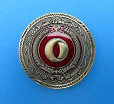OLIGHT Red Diamond Challenge Coin Rare Limited Edition Collectors Item