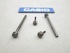 Genuine Casio PAW-1500Y PRG-130Y watch band pins posts & screws gunmetal finish