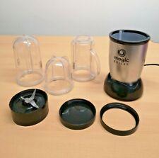 NUTRiBULLET Magic Bullet Deluxe Blender, Mixer & Food Processor, Silver