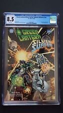 Silver Surfer And Green Lantern - Dc & Marvel Collaborate - High Cgc Rating!