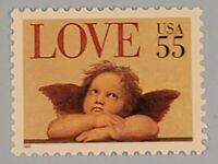 Scott#: 2958 - Love 1995: Cherub 55c Single Stamp MNH OG