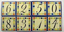 Numeros (Numbers) Talavera Tile
