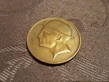 Pièce monnaie coin munt 1830/1930 GLOIRE A LIEGE LA VAILLANTE Belgique Jeton