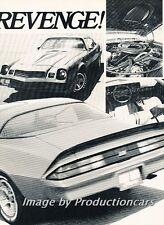 1980 Chevrolet Camaro Z28 Z-28 Original Car Review Print Article J748