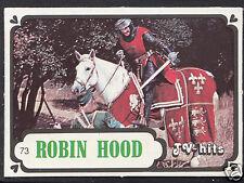 Monty Gum Card - 1986 TV Hits - Robin Hood - Card No 73
