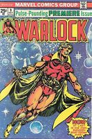 Warlock Pulse-Pounding Premiere Issue #9 FN+ Marvel Comics October 1975