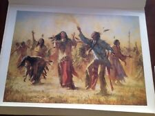 Howard Terpning Hope Springs Eternal The Ghost Dance Sold Out LE Print