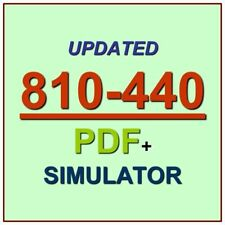 Adopting The Cisco Business Architecture Approach DTBAA Test 810-440 Exam QA+SIM