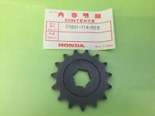 Honda NOS. QA50, QA50K1, K2, K3, SPROCKET, DRIVE (15T) . PART No. 23801-114-000