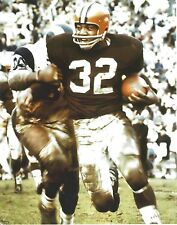JIM BROWN 8X10 PHOTO CLEVELAND RAIDERS PICTURE NFL FOOTBALL VS RAMS