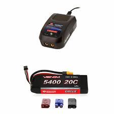 Venom 20C 2S 5400mAh 7.4V LiPo Battery and Sport Charger Combo