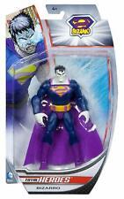 BIZARRO Superman Total Heroes 6 inch action figure Mattel DC Universe