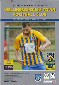 21/22 WELLINGBOROUGH TOWN v  RUGBY TOWN