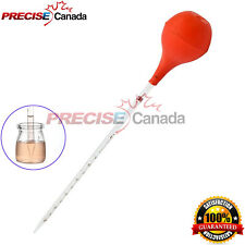 Graduated Medicine Glass Droppers 5ml 5cc Transfer Pipet Pipette Scale Ds 1441