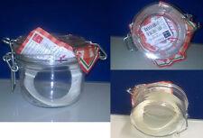 Confezione da 6 barattoli ermetici in vetro per conserve Bormioli fido da 200 ML