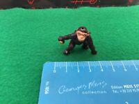 Vintage Timpo Toys Lead Zoo. Tarzans Chimpanzee (Cheetah) With A Ball. 1/32 Scal