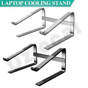 Ergonomic Aluminium Laptop Stand Portable Elevator Tray Holder Cooling Riser
