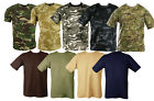 Kombat MENS MILITARY CAMOUFLAGE CAMO T SHIRT ARMY COMBAT