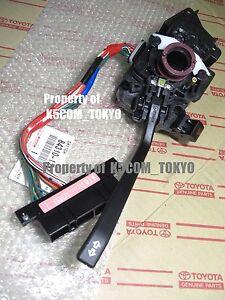 RHD Oem Turn Signal Switch TOYOTA AE86 85 LEVIN TRUENO ZENKI KOUKI Genuine