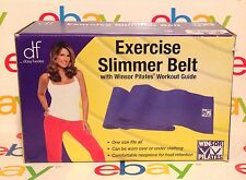 Daisy Fuentes Exercise Slimmer Belt w/ Winsor Pilates Workout Guide