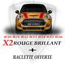 Bandes Capot Mini Cooper POSE SANS BULLE PRO + Raclette offerte ! R50 R51 R52etc