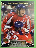 2008-09 Upper Deck Series 1 Hat Trick Heroes #HT1 Alexander Ovechkin Capitals