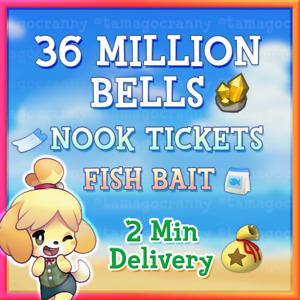 Animal Crossing:New Horizons Bells ✅ ONLINE ✅ INSTANT BELLS + NOOK MILES TICKETS