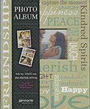 1-Pinnacle~Photo Album~Holds-208-Photos~Slip In 4x6-Size~