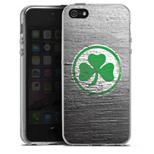 Apple iPhone 5s Silikon Hülle Case - Metal Scratch SpVgg