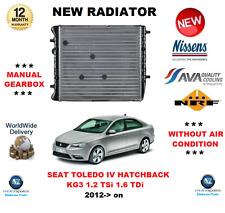 für Seat Toledo IV Fließheck KG3 1.2 TSI 1.6 TDI 2012- > NEU Kühler OE-Qualität