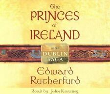 The Dublin Saga The Princes of Ireland Edward Rutherfurd 8 Audio Book CD Set