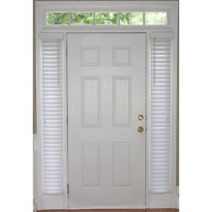 Sidelight Plantation Blinds Room Darkening 2 In Slat White Faux Wood 9 X 72 Inch