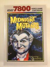 Midnight Mutants - Atari 7800 - Replacement Case - No Game