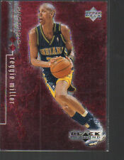 REGGIE MILLER 1998-99 BLACK DIAMOND DOUBLE DIAMOND CARD #42 /3000