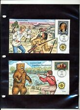USA 2004 Lewis & Clark Expedition Hand Painted COLLINS Covers x 16 (ZA272