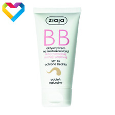 ZIAJA BB FACE CREAM FOR NORMAL DRY SESITIVE SKIN SPF15  NATURAL SHADE 50ml 01224