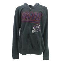 New York Giants Official NFL Juniors Teens Girls Size Full Zip Hooded Sweatshirt