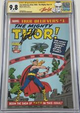 True Believers Mighty Thor #1 Journey Into Mystery 83 Signed Stan Lee CGC 9.8 SS