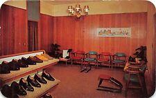 PORTLAND MAINE~LAMEY-WELLEHAN SHOES~539 CONGRESS STREET~SHOWROOM POSTCARD 1961
