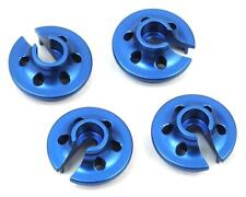 ST Racing Concepts Traxxas 4Tec 2.0 Aluminum Lower Shock Retainers (4) (Blue)