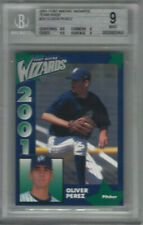 2001 Fort Wayne Wizards Team Issue #20 Oliver Perez Card - Beckett 9 Mint
