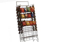 Only Hangers Wire Snack Rack - Chip Rack - Wire Shelf Snack Display  - Black