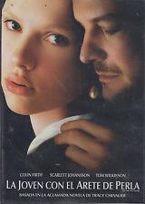 DVD - La Joven Con El Arete De Perla NEW Colin Firth FAST SHIPPING !