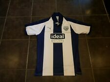 West Bromwich Albion 2018 -19 large adult home football shirt