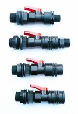1.9cm Bsp Serbatoio Adattatore Con in-Line Valvola a Sfera Filettatura (4 Tipi)