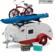 LGB 1:24 Scale Teardrop US American Caravan & Accessories Diecast Detailed Model
