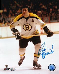 PHIL ESPOSITO  BOSTON BRUINS   ACTION SIGNED 8x10