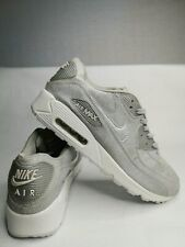 Nike Air Max 90 Men's Silver Glitter Trainers, US11, UK10, EUR45, 29cm