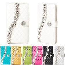 Strass Handy Tasche für Samsung Galaxy Schutz Hülle Flip Case Cover Etui Wallet