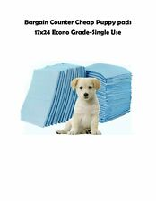 """23x24/23x36"""" Bargain Counter Economy Puppy Dog Training /Adult Incontinence Pads"""